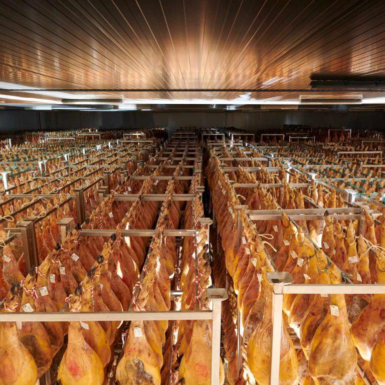 Secadero de Jamones El Veleta. Interior